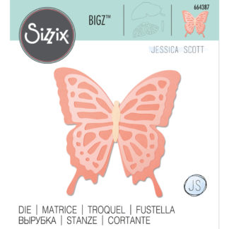 Product shot Layered Butterfly Sizzix Bigz Die Set