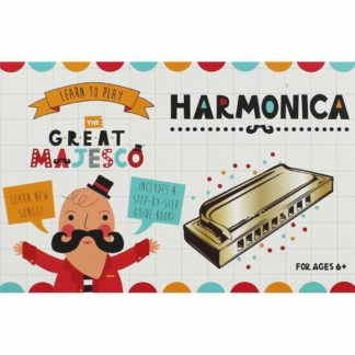 Product shot Learn To Play Harmonica Set