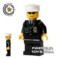 Product shot Lego City Mini Figure – Police - Sunglasses