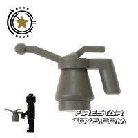 Product shot Lego - Oil Can - Dark Gray