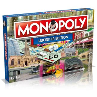 Product shot Leicester Monopoly Board Game