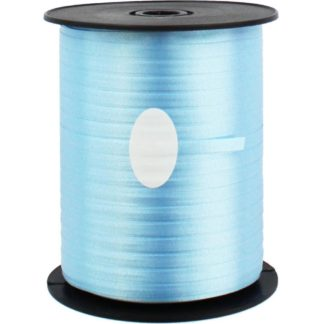 Product shot Light Blue Balloon Curling Ribbon - 500M X 5Mm