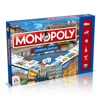 Product shot Liverpool Monopoly Board Game
