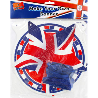 Product shot Make Your Own Union Jack Banner