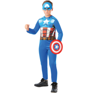 Marvel Avengers Captain America Fancy Dress Costume Box Set