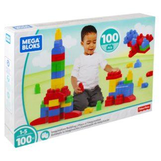 Product shot Mega Bloks 100 Piece Building Blocks Set