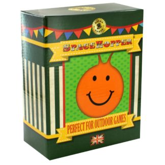 Product shot Orange Smiley Face Space Hopper
