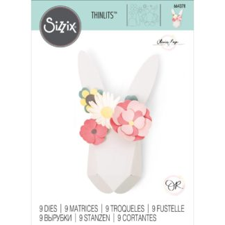 Product shot Origami Rabbit Metal Cutting Die Set