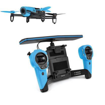 Parrot Bebop Drone with Skycontroller Toy Blue