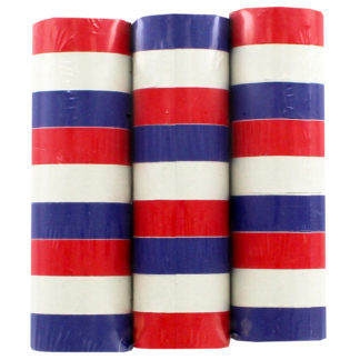 Product shot Red White And Blue Paper Streamers - 4M