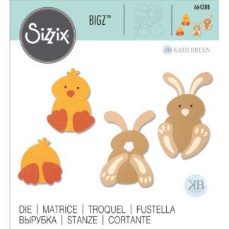 Product shot Spring Friends Sizzix Bigz Die Set