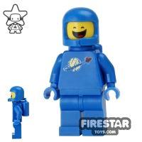 Product shot The LEGO Movie Mini Figure - Benny - Closed Eyes