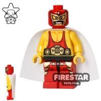 Product shot The LEGO Movie Mini Figure - El Macho Wrestler