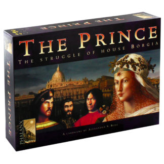 Product shot The Prince - The Struggle Of House Borgia Strategy Card Game