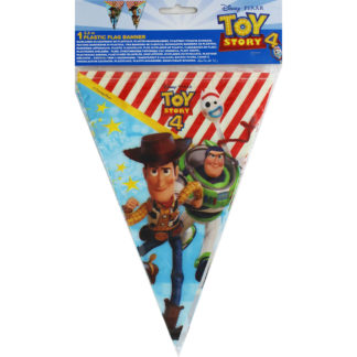 Product shot Toy Story 4 Plastic Flag Banner