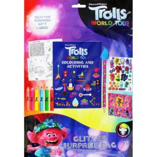Product shot Trolls World Tour Glitter Surprise Bag