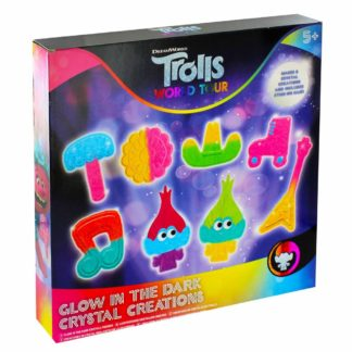 Product shot Trolls World Tour Glow In The Dark Crystal Creations
