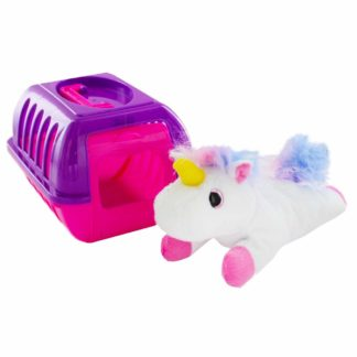 Product shot Unicorn Pet Plush With Carry Case