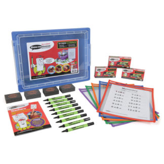 120 Piece Show-me Dry Wipe Template Pocket Class Pack