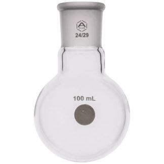 A PLUS Round Bottom Flask Single Neck 100ml