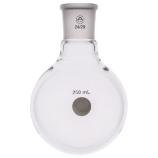 A PLUS Round Bottom Flask Single Neck 250ml