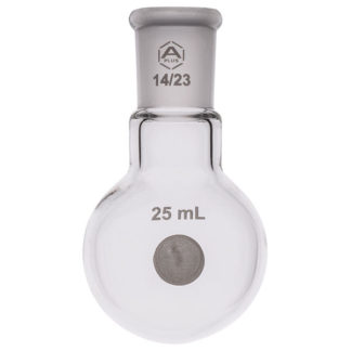 A PLUS Round Bottom Flask Single Neck 25ml