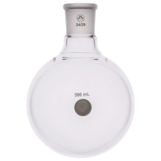 A PLUS Round Bottom Flask Single Neck 500ml