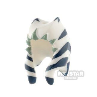 Product shot LEGO - Ahsoka Headdress - Dark Blue Pattern