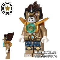 Product shot LEGO Legends of Chima Mini Figure - Longtooth - Shoulder Armour