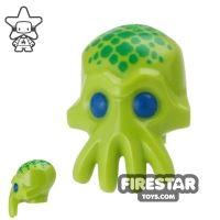 Product shot LEGO Mini Figure Heads - Alien Trooper