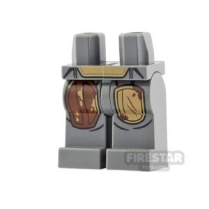 Product shot LEGO Minifigure Legs The Mandalorian Durasteel Armour