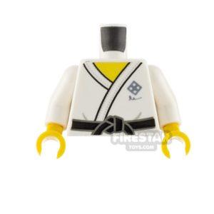 Product shot LEGO Minifigure Torso Gi Karate Suit