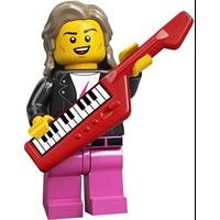 Product shot LEGO Minifigures 71027 80s Musician