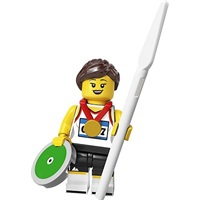 Product shot LEGO Minifigures 71027 Athlete