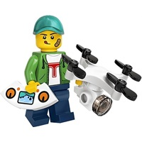 Product shot LEGO Minifigures 71027 Drone Boy