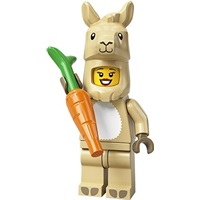 Product shot LEGO Minifigures 71027 Llama Costume Girl