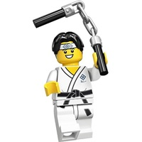 Product shot LEGO Minifigures 71027 Martial Arts Boy