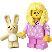 Product shot LEGO Minifigures 71027 Pyjama Girl
