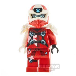 Product shot LEGO Ninjago Minifigure Digi Kai with Shoulder Armour