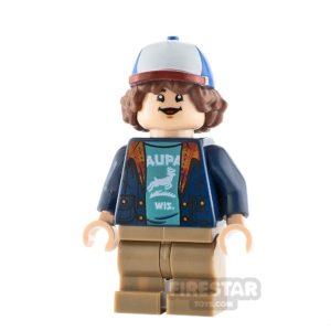 Product shot LEGO Stranger Things Minifigure Dustin Henderson
