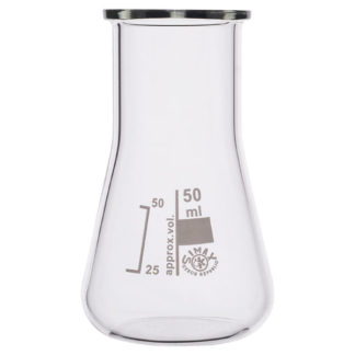 Simax Conical Flask Wide Neck 50ml Pack of 10