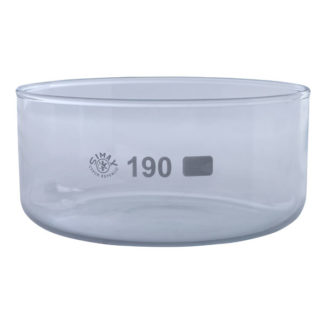 Simax Glass Crystallising Dish with Flat Bottom No Spout 2000ml Ø1...