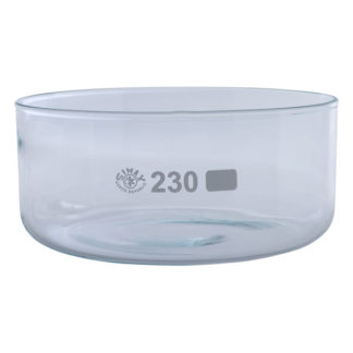 Simax Glass Crystallising Dish with Flat Bottom No Spout 3500ml Ø2...
