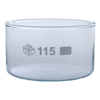 Simax Glass Crystallising Dish with Flat Bottom No Spout 500ml Ø11...