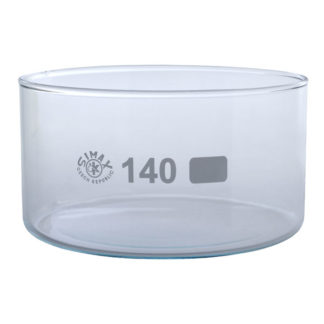 Simax Glass Crystallising Dish with Flat Bottom No Spout 900ml Ø14...