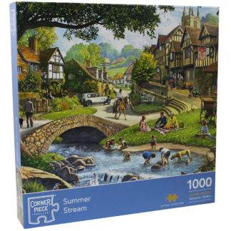 Product shot Summer Stream 1000 Piece Jigsaw Puzzle