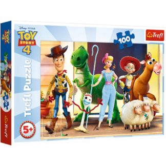 Product shot Toy Story 4 100 Piece Puzzle Jigsaw Puzzle