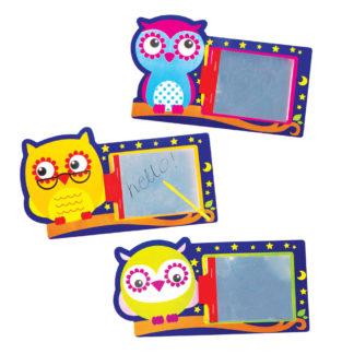 3 Little Owls Magic Slates (Pack of 12)
