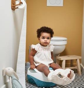 3-in-1 Potty blue light solid