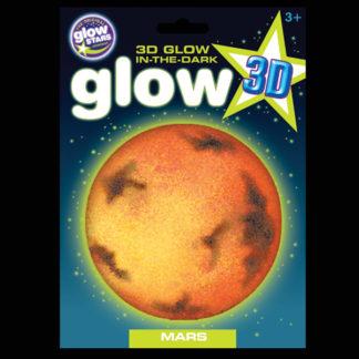 3D Glow in the Dark Mars